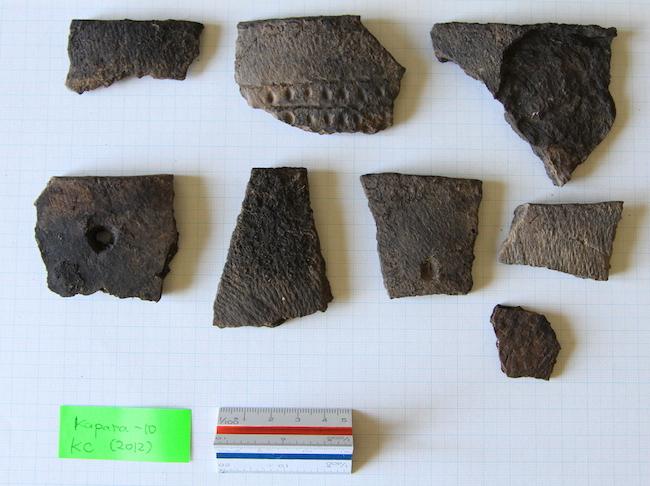 カムチャツカ半島東北部のイヴァシュカ式土器